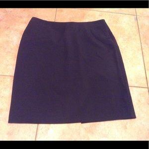 Laundry black skirt.